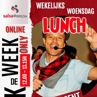 ONLINE Breek de Week LUNCH 12.00 - 13.15 UUR
