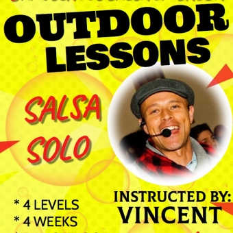 OUTDOOR SALSA LESSONS